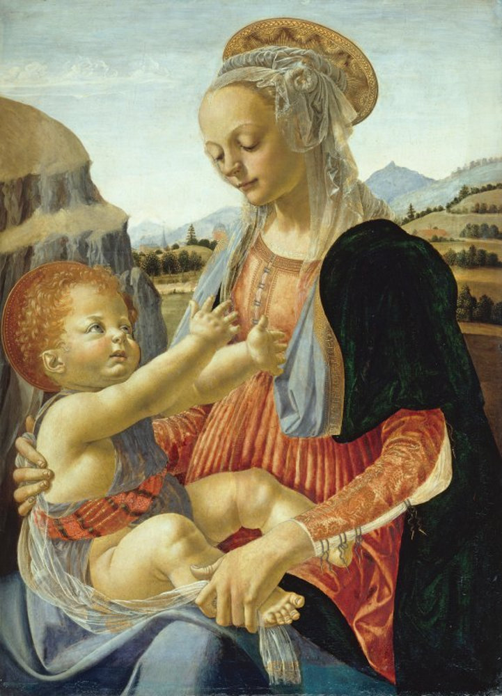 Andrea del Verrocchio - Mary with the Child.jpg